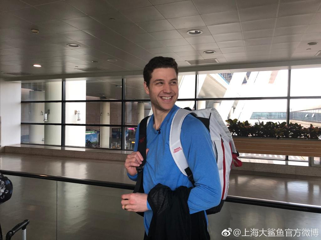 上海双外援今日启程返美 弗雷戴特:新赛季再见