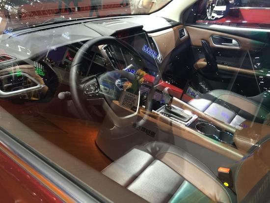 配6速自动变速箱 斯威X7自动挡或8月上市
