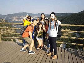宝岛台湾旅游达人的太行大峡谷探景之旅