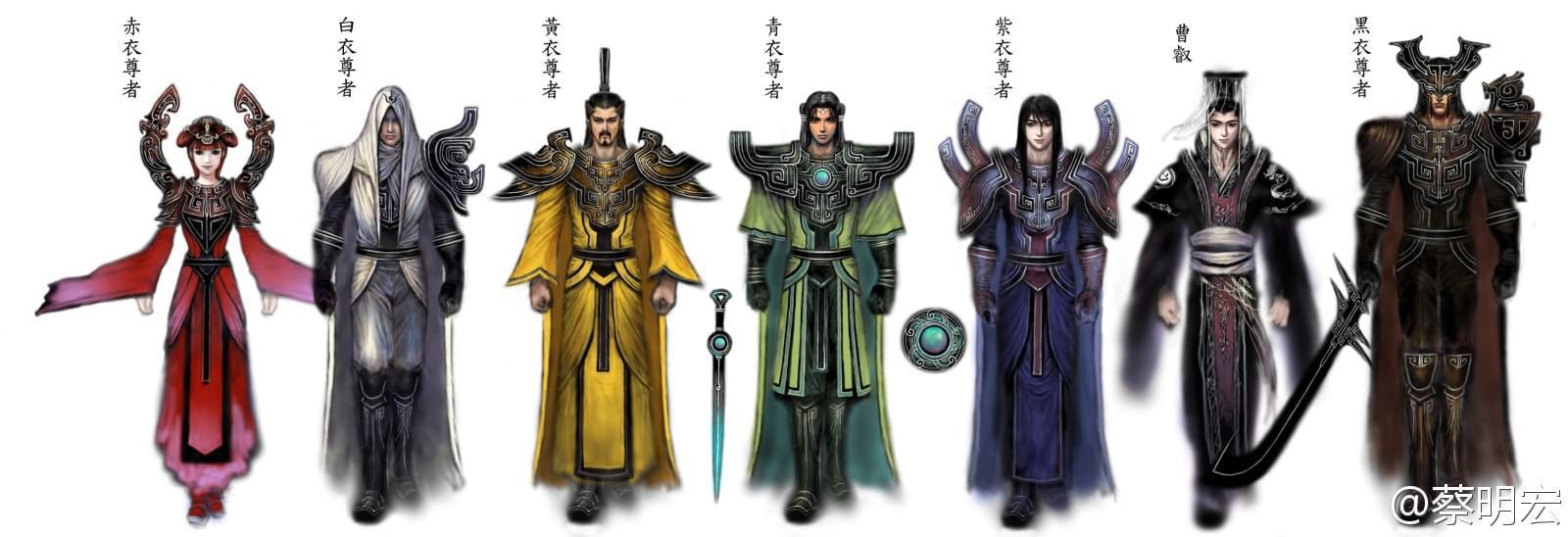 """《轩辕剑》中,曹操麾下同样有一支名为""""铜雀尊者""""的刺客组织"""