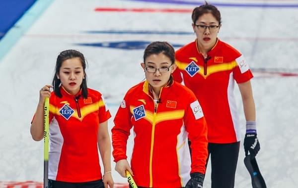 女子冰壶世锦赛中国5-7美国