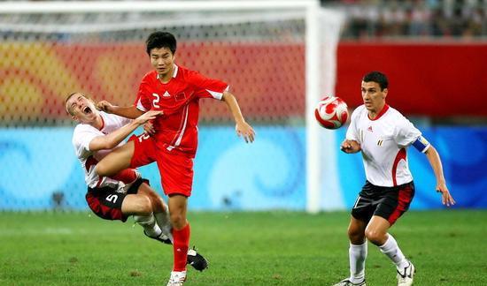 谭望嵩在08国奥比赛中