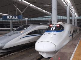 西安新增至太原等地9对动车组列车