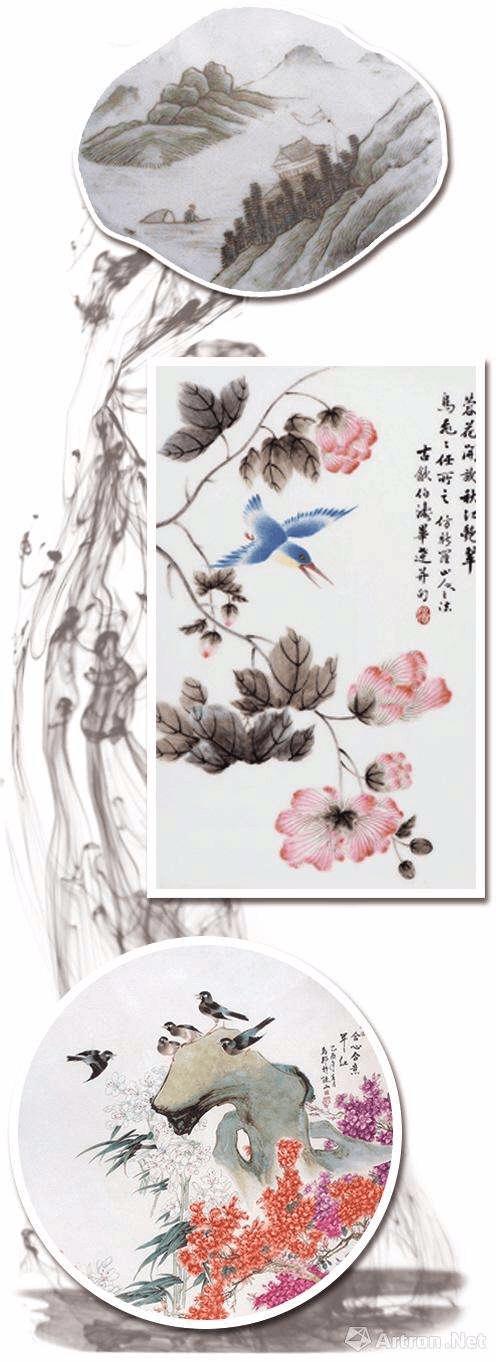 瓷画收藏方兴未艾 尚未引起大规模跟风炒作