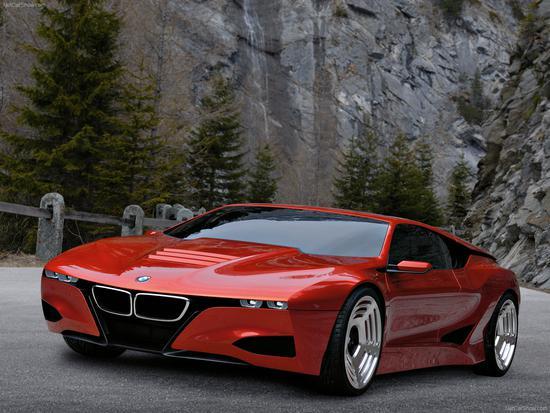 为纪念M1诞生30周年所推出的M1概念车