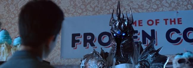 """炉石""""冰封王座的骑士""""趣味视频:巫妖王的冰淇淋"""