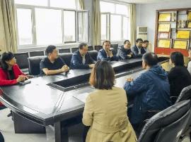 万荣县教科局召开援疆教师欢送会