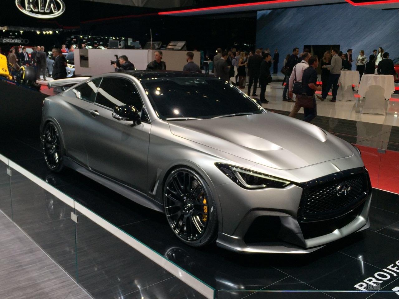 2017日内瓦车展:Project Black S概念车