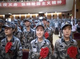 全国征兵工作从8月1日开始 重点做好大学生征集工作