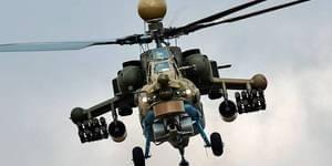 俄新米28UB武直亮相 装先进航电