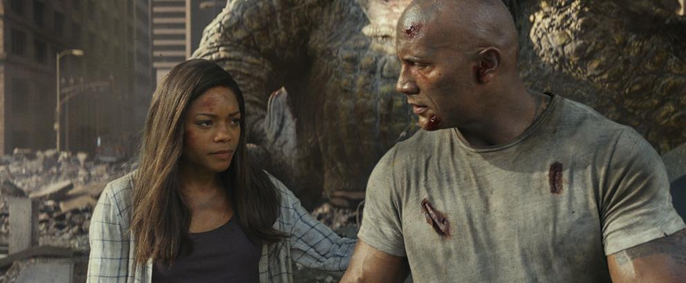 《狂暴巨兽》上映 揭秘强森如何带你热血打怪