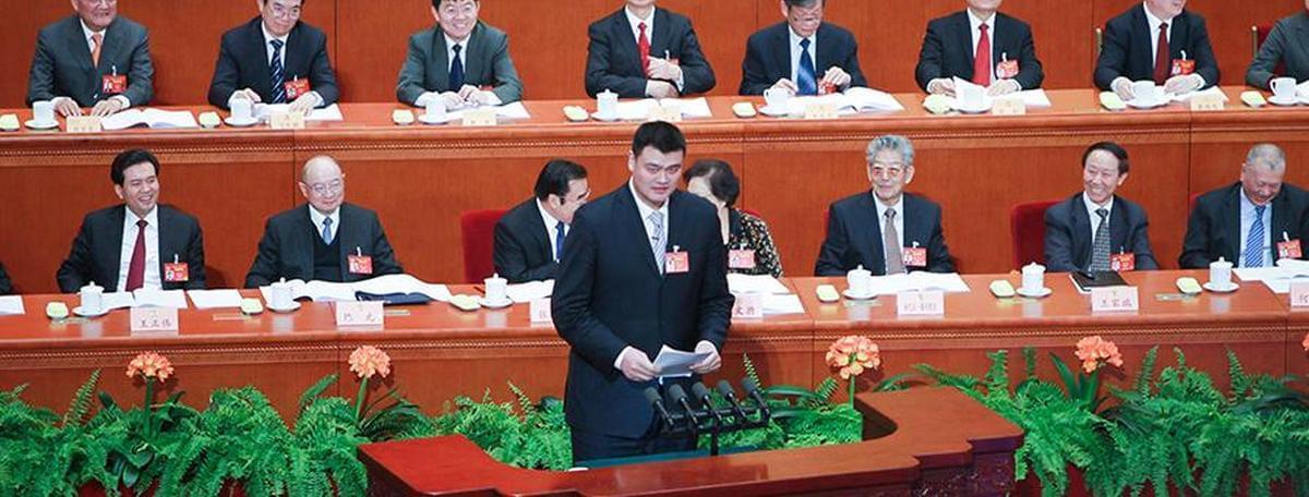 两会故事:政协委员姚明五年履职记