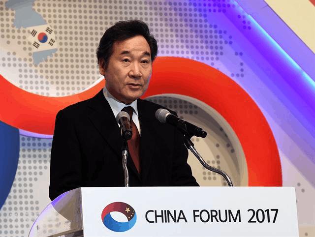 韩国总理:中国是韩国的命运