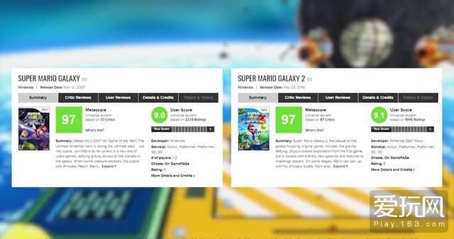"""02:Wii时代结束时玩家们还曾讨论过这两个游戏""""谁才是神作中的神作?"""""""