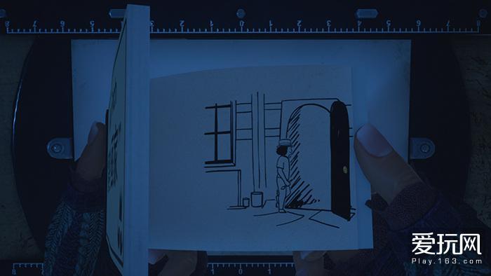 4、游戏用不到三十秒的时间刻画出了逃进画中世界的milton