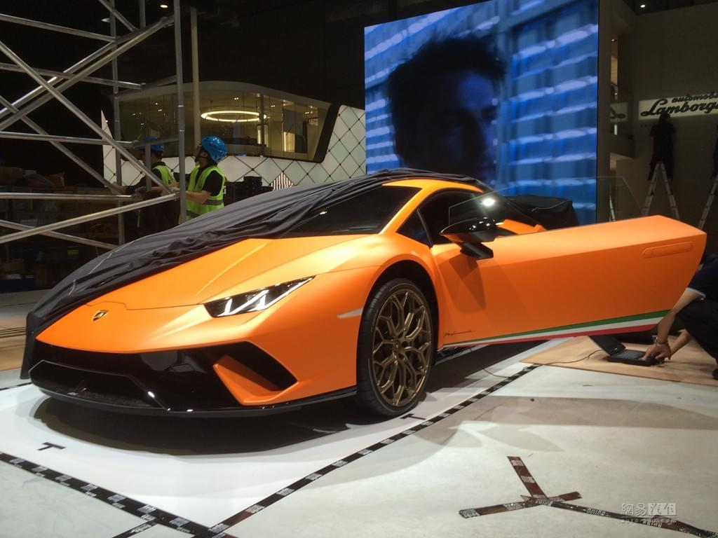 2017上海车展探馆:Huracan Performante