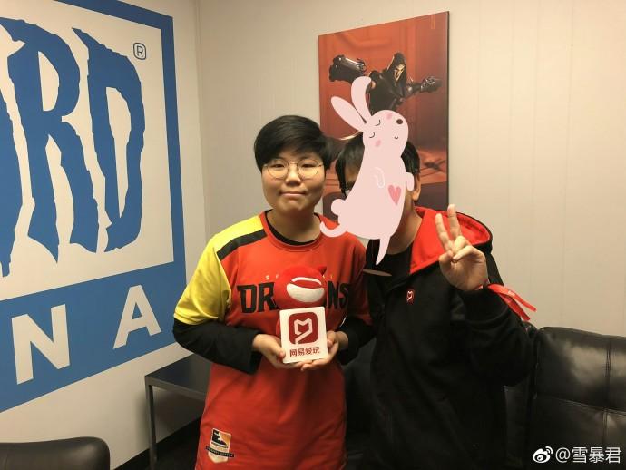 专访OWL上海龙之队选手GEGURI: