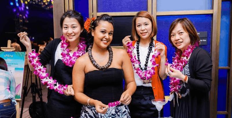 夏威夷旅游局亮相西安 独特风情引市民