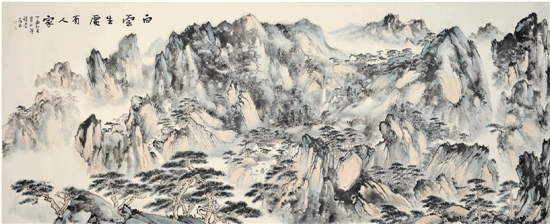 山静日长——林存安中国画展开幕