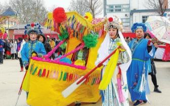 邯郸:春节期间民间花会表演