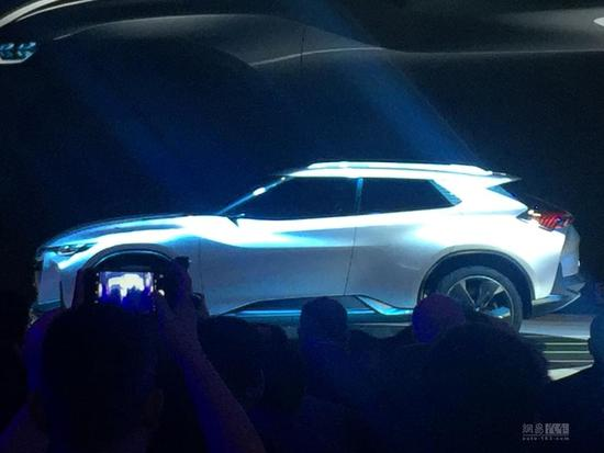 2017上海车展:雪佛兰FNR-X概念车发布