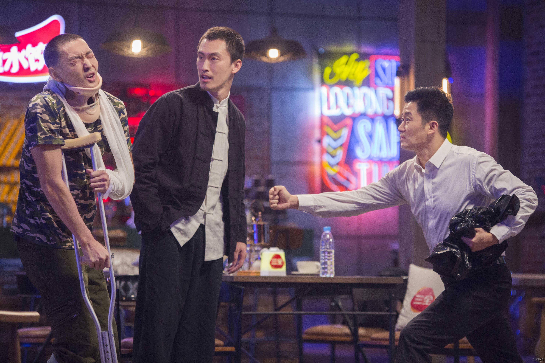 《开心剧乐部》热血男儿吴京做客节目给自己挖坑