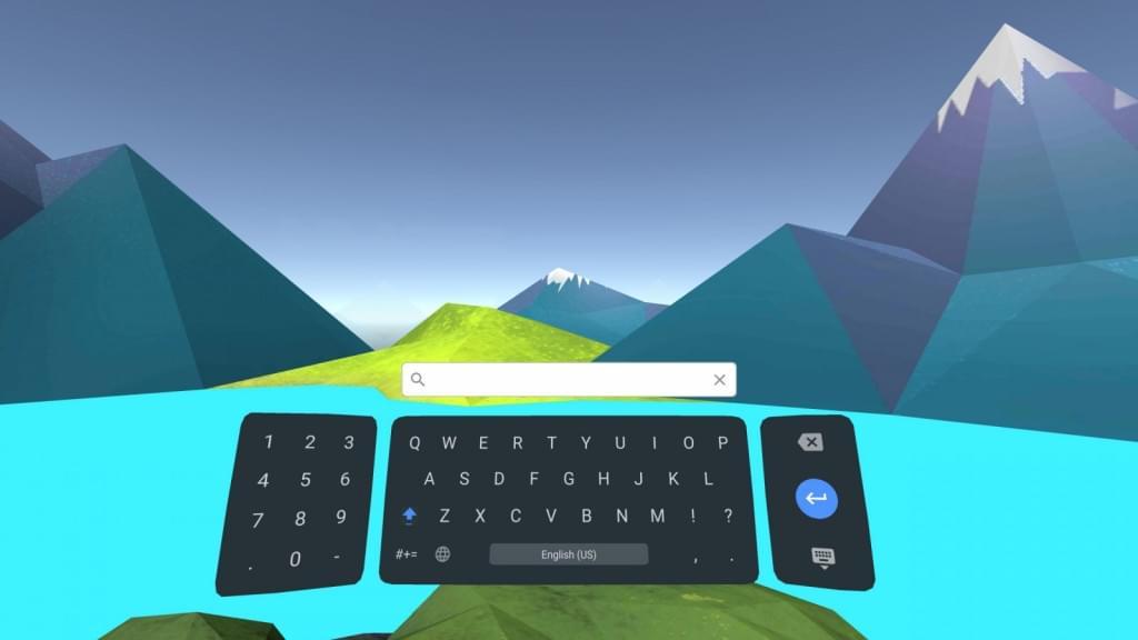 谷歌推出VR系统Daydream虚拟键盘应用的照片 - 2