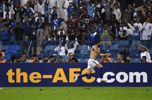 亚冠决赛-拉斐尔破门赫里宾扳平 希拉尔1-1浦和