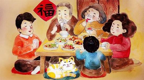 春节过年礼仪、礼节、风俗大全