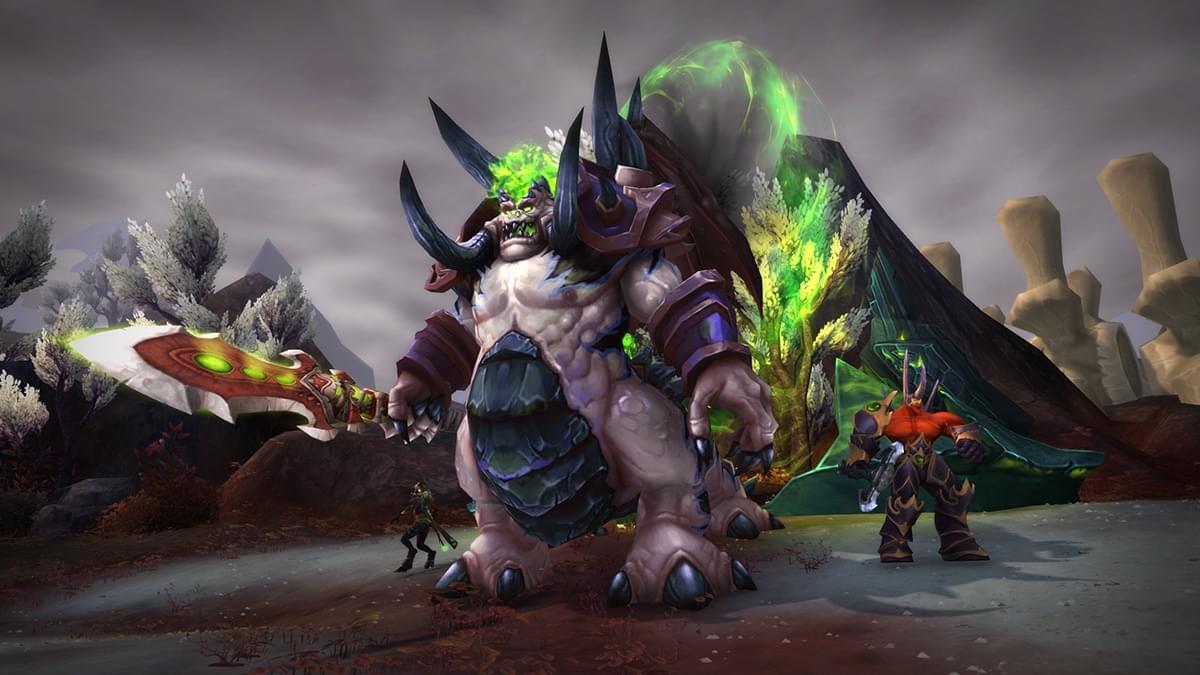 魔兽世界7.3版本阿古斯之影入侵点战斗预览
