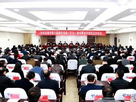 洪湖市召开市委八届四次全体(扩大)会议暨全市经济工