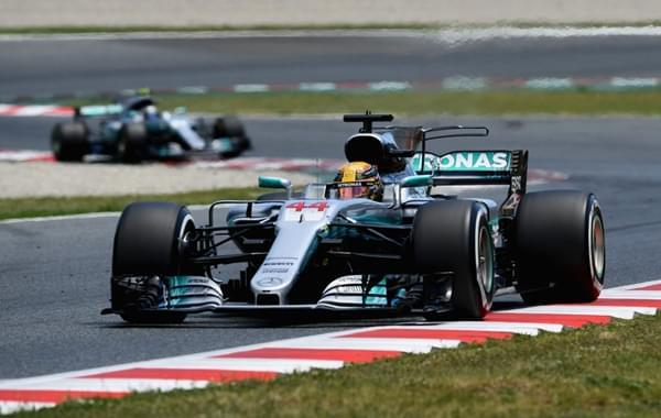 F1西班牙站小汉乱局突围夺冠