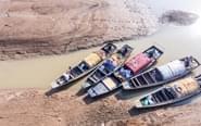 鄱阳湖全面进入枯水期