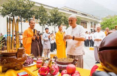 《禅宗少林·照见山居》迎请韦驮菩萨开光仪式功德圆满