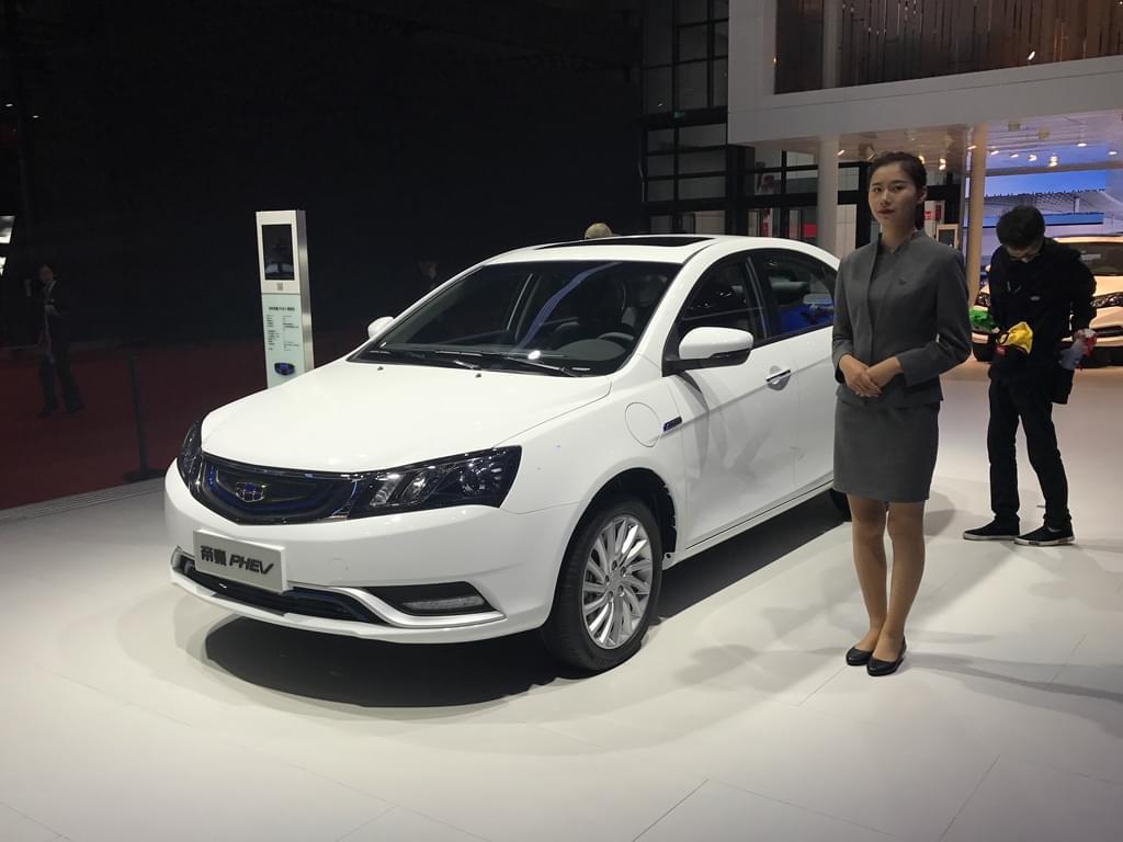 2017上海车展:吉利帝豪PHEV首次亮相
