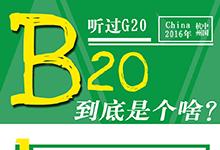 听说过G20,B20到底是个啥?