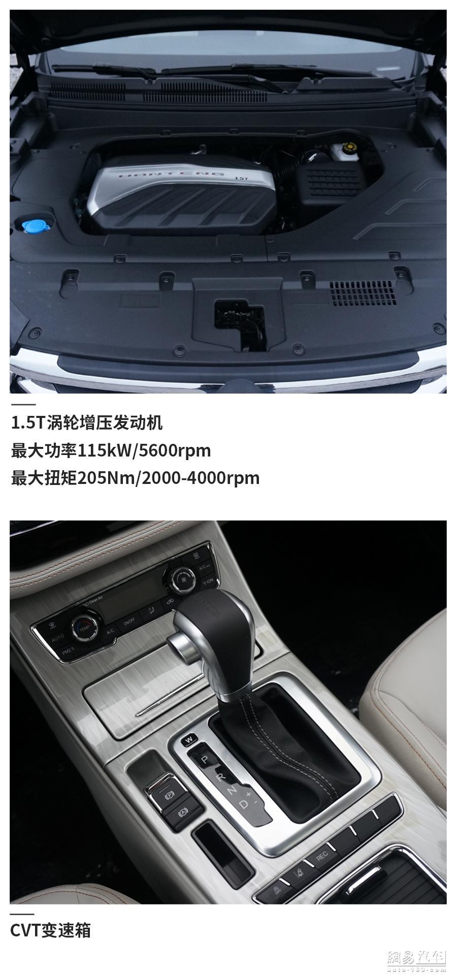 主推1.5CVT豪华/手动精英 汉腾X5全系导购
