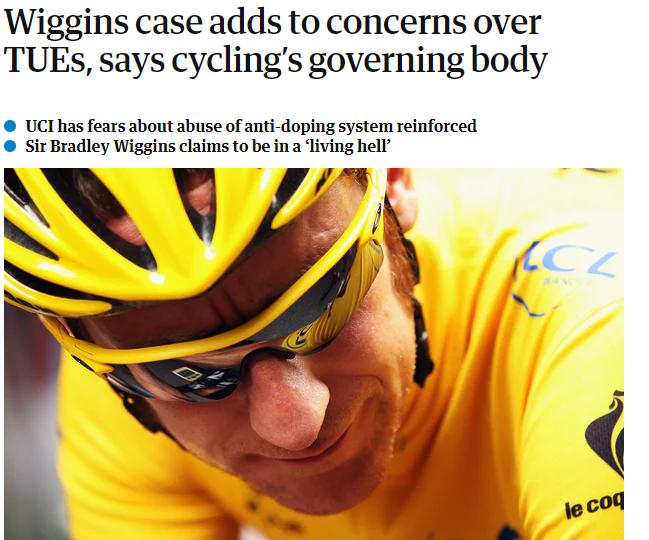 威金斯禁药丑闻持续发酵 英国体育部将向车队索赔