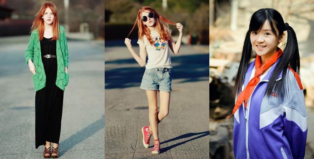 各国15岁少女颜值比拼 中国少女的穿着亮了