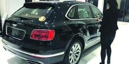 超豪华汽车消费税闹的 男子买宾利SUV不能提车