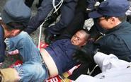 台退役军人遭警方暴力抓捕
