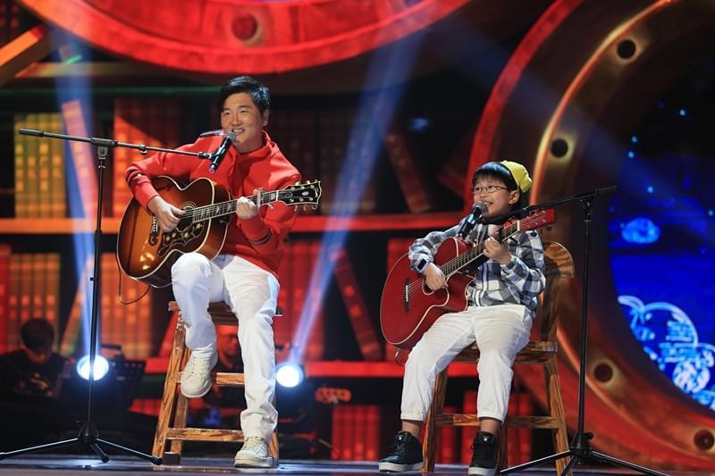 吴耀杰原创歌曲《我可爱的爸爸》 感动众人