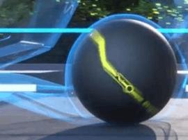 东京车展出现拥有AI技术球形轮胎试验品