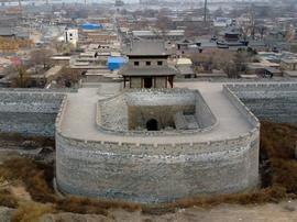 太原复建明代历史遗址 再现古城风貌