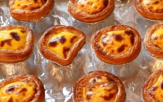 蛋挞在家其实也能做 一次做10个还吃不够