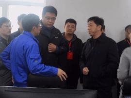 安国市政协主席刘子仁带队视察重点工作