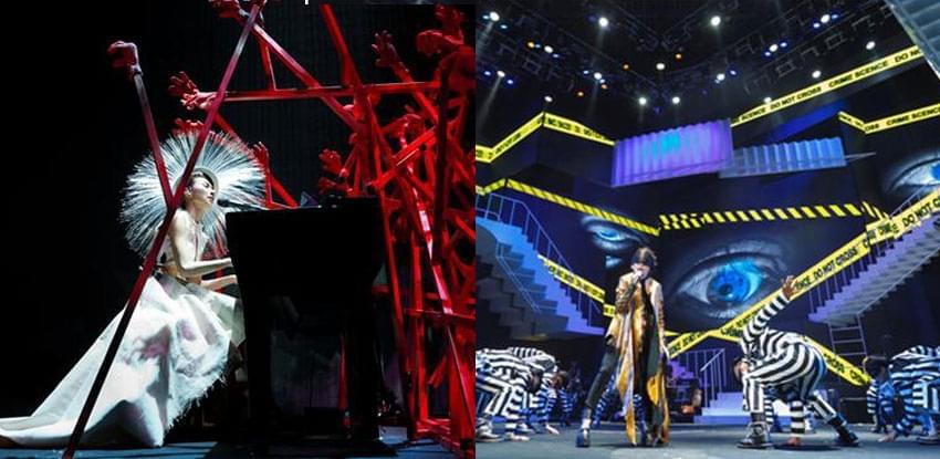 戴佩妮巡演在即 舞台搭建要花10余天