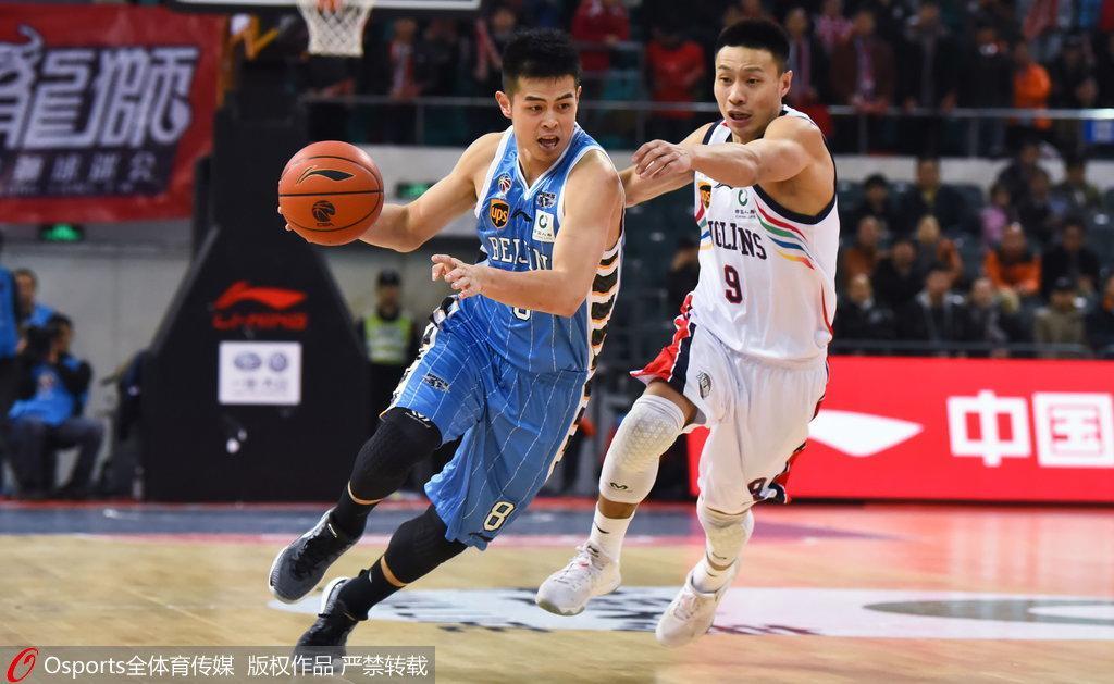 北京10分客负广州遭连败 主队惊人52罚43中制胜