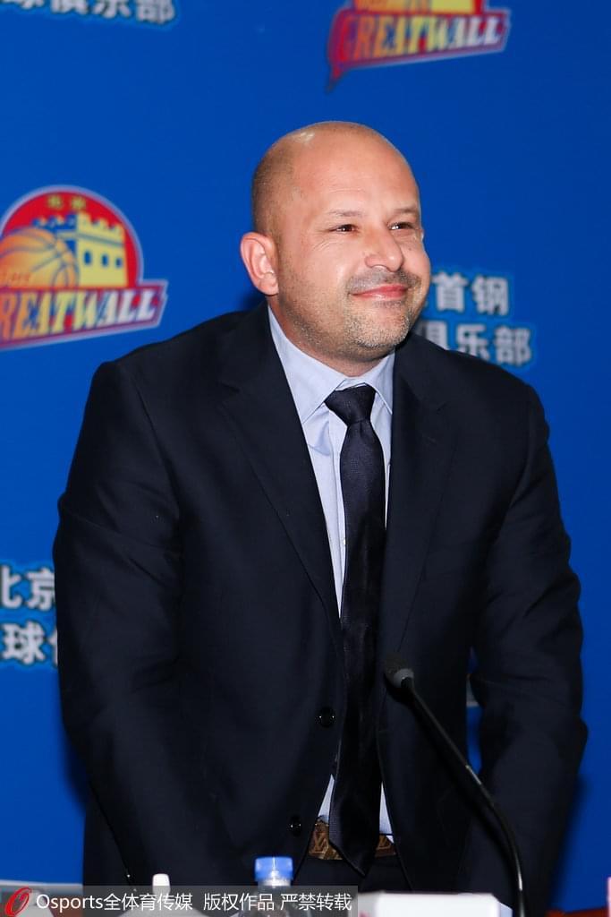 北京新主帅:竭尽全力为北京球迷创造更多的喜悦