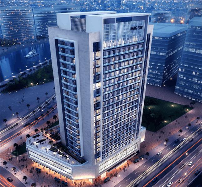 迪拜CBD商住两用房 年均租金9%
